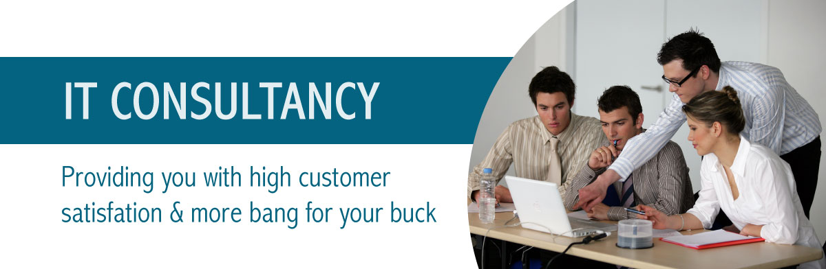 IT Consultancy Providing you with high customer satisfaction & more bang for you buck
